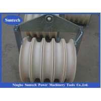 Wholesale Four Bundled Five Nylon Conductor Pulley For Transmission Line from china suppliers