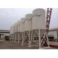 China Bulk Powder Steel Storage Tanks 50T Welded Cement Bolted Dry Mortar Silo on sale