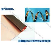 Treatment Rolled Copper Foil Sheet , High Elongation  FCCL Cu Foil Roll