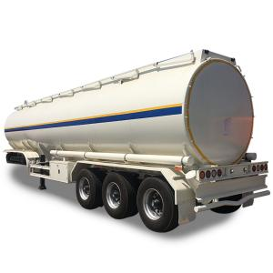 Wholesale 3 Axles Oil Tank Semi Trailer Fuel Tanker Trailer from china suppliers
