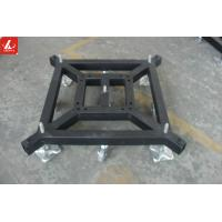 Buy cheap Removable Stage Truss Systems Lift Steel Base Plate With Wheels / Stationary from wholesalers