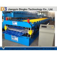 Wholesale 0.8~1.2mm Thickness metal roof roll forming machine , roofing sheet roll forming machine from china suppliers