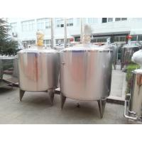 Wholesale 1500L Square Stainless Steel Tank High Shear Emulsifying Wth CE AND ISO Ceitification from china suppliers