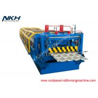 China 914mm Input Sheet Metal Roll Forming Machines With 75mm Shaft Diameter on sale