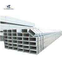 Wholesale AS1163 C250 C350 Galvanized Rectangular Tubing Corrugated Cut To Sizie Length from china suppliers