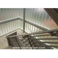 Wholesale Low Iron Tempered U Shaped Glass 262(W)X60(H)X7(T) Mm Dimension Building Material from china suppliers