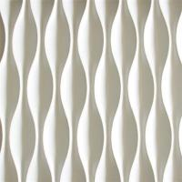 ... Quality Pop Sale Lowes Price Wave Pattern 3D Wall Decor Panels 3D Board  For Bathroom For ...