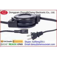 Wholesale 8 female Retractable Power Cord , Tablet Charger AC 2pin Power Extension Cord from china suppliers