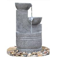 China Granite Color 3 Tier Outdoor Water Fountains CE / GS / TUV / UL Approved wholesale