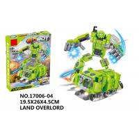 Wholesale 151Pcs Smooth Building Blocks Educational Toys Transformers Car Robot Toys from china suppliers