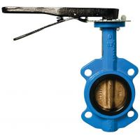 DN100,PN10 wafer type Electric UPVC butterfly valve