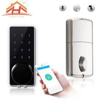 Wholesale Customized High Standard Bluetooth Smart Door Lock With Wireless Touch Screen from china suppliers