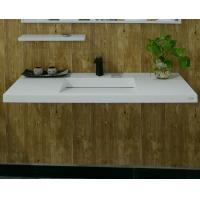 Wholesale Acrylic Solid Surface Wall Mount Bathroom Sink Rectangular Eco - Friendly from china suppliers