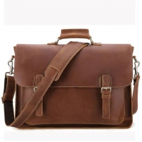 Wholesale First Layer Cowhide Men'S 17 Inch Retro Laptop Messenger Bags from china suppliers
