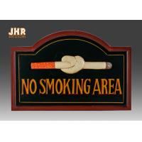 Wholesale No Smoking Wooden Wall Signs Hand Painting from china suppliers