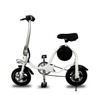 Wholesale Durable Folding Electric Bike 36V 250W Removable Battery Including Lights / Meters from china suppliers