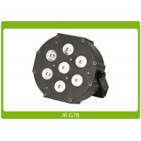 China Metallic Flat Par Can 7* 8W Quad RGBW, DMX most reliable and cost effective equipment on sale