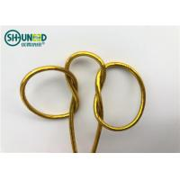 Buy cheap Round Shape Garments Accessories Thread Braided Elastic String For Gift Packing from wholesalers