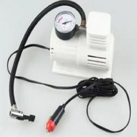 Wholesale White Mini Air Pump With 45cm Hose , Hand Held Heavy Duty Car Air Compressor from china suppliers