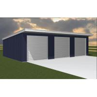 Customized Industry Structure Steel Sheds With Bridge Cranes Inside