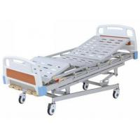 China Multi Function Manual Hospital Bed With 4 Cranks For Adults wholesale