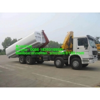 Wholesale Hook Arm Sinotruk Howo7 6x4 Euro2 Garbage Compactor Truck from china suppliers