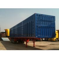 Wholesale 45ft Roof Opened Steel Dry Van Trailer / Dry Box Trailer With Tri Axles from china suppliers