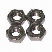 Wholesale Welding Nuts, Made of Low Carbon Steel and Aluminum Alloy Materials, OEM and ODM Orders are Welcome from china suppliers
