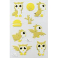 Wholesale Printable Birds Puffy Animal Stickers For Kids Gifts Custom Eco Friendly from china suppliers