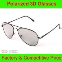Metal frame circular polarized 3d Glasses