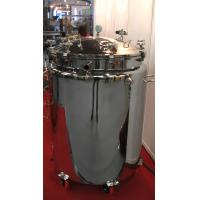 China 304 SUS Stainless Steel Storage Tanks For Pharmaceutical Dairy Foods on sale