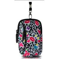 Wholesale For promotion heat transferring print neoprene camera pouch with two pocket for storage from china suppliers