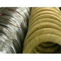 Wholesale BWG 18 BWG 20 BWG 22 Galvanized Binding Wire For Hangers / Bucket Handle from china suppliers