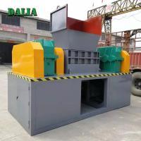 Wholesale Large Capacity Double Shaft Shredder Machine For Waste Plastics Iso / Ce from china suppliers