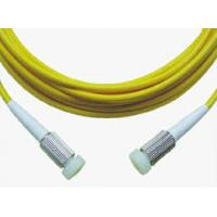 High Durability Fiber Optic Pigtail / Patch Cord LSZH 3.0mm For Telecom Network