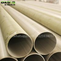 Wholesale ASTM A312 316L stainless steel seamless welded stainless steel ERW pipe from china suppliers
