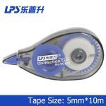 PET Eco Friendly Blue Colored Correction Tape With EN71 PART3 Approve