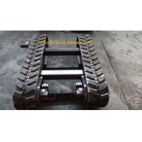 China RUBBER TRACKED HARVESTER UNDERCARRIAGE KRT1500/1.5 ton load/engineering machinery parts/with hydraulic motor and reducer wholesale