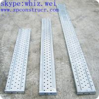 Scaffold Walk Board : Galvanized steel punching scaffolding walking board