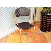 Anti Uv Outdoor Rattan Chairs Moon Style Living Room Furniture Of Item 102464536