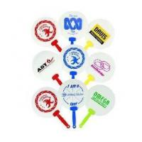 Wholesale Foldable plastic fan with winnie printed from china suppliers