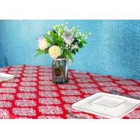 Wholesale Wedding / Birthdays Disposable Table Cloths , Printed Disposable Table Covers from china suppliers