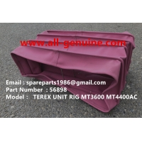 Wholesale MT4400 UNIT RIG 56898 DUCT TEREX NHL DUMP TRUCK TR35 TR50 TR60 TR100 3305B 3305F 3303 3307 TR45 TR70  ALLISON from china suppliers