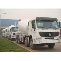 Wholesale Sinotruk HOWO 8x4 Special Purpose Trucks , 12 Cbm Concrete Agitator Truck from china suppliers