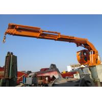 Wholesale Marine Ship Use Hydraulic Telescopic Knuckle Boom Cranes Construction Equipment from china suppliers