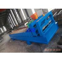 Servo Motor Roofing Corrugated Sheet Roll Forming Machine Hydraulic Pillar Cutting