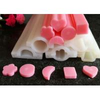 Wholesale Custom Long Tube Soft Handmade Silicone Molds Moon / Heart  / Round Shaped from china suppliers