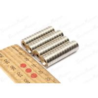 China Super Strong Countersunk Neodymium Magnets OD 3 / 4 * 1 / 8 Inch 80 Celsius Degree wholesale