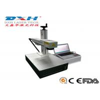 Wholesale Fully Automatic Fiber Laser Marking Machine Usb Laser Engraver Online Editing Function from china suppliers