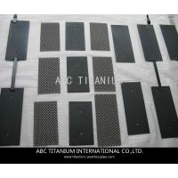 Wholesale titanium anode for sodium hypochlorite generator from china suppliers